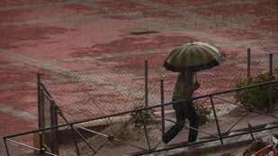 Se mantiene el aviso amarillo por lluvias este domingo
