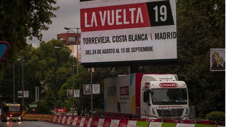 74º Vuelta Ciclista a España: estos son los cortes de tráfico para este domingo