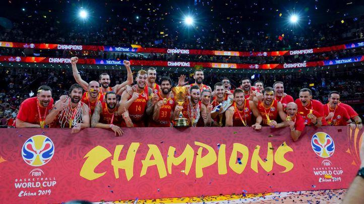 La selección española de baloncesto gana el Mundial.