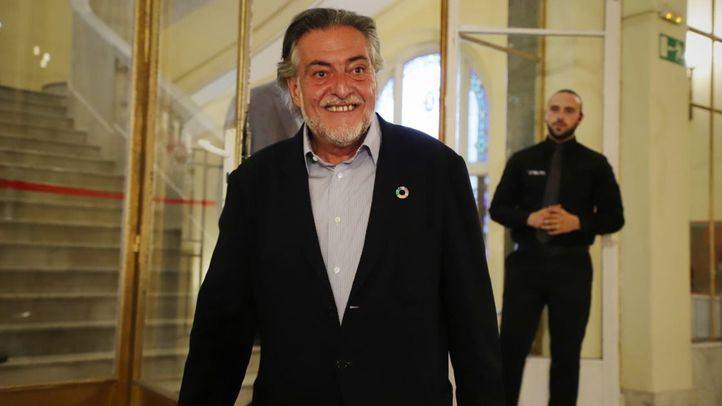 Pepu Hernández, concejal del PSOE en el Ayuntamiento de Madrid.