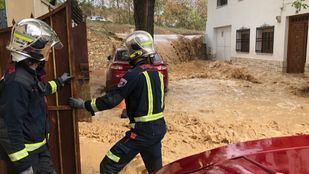 Inundaciones por las fuertes lluvias de este fin de semana.