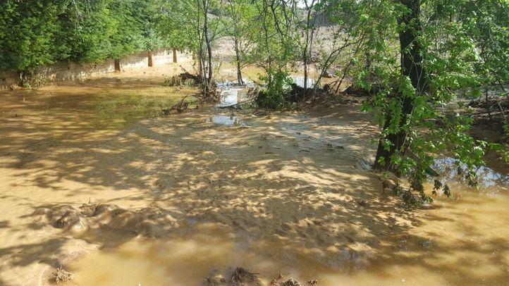 Un herido y decenas de casas inundadas: balance de las nuevas riadas en Arganda