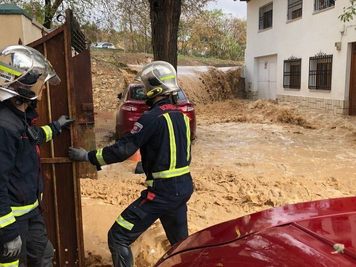 Más de 25.000 madrileños viven en zonas de riesgo de inundación