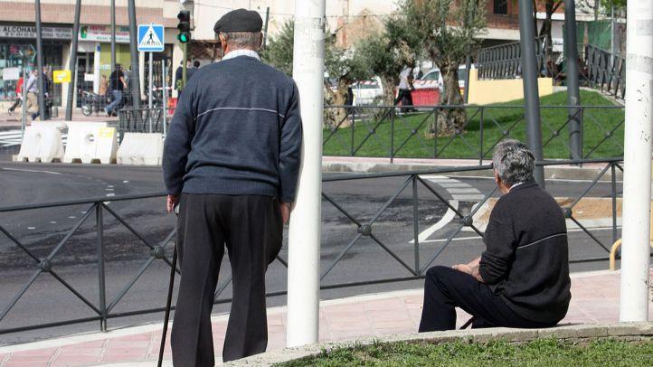 ancianos mayores viejos