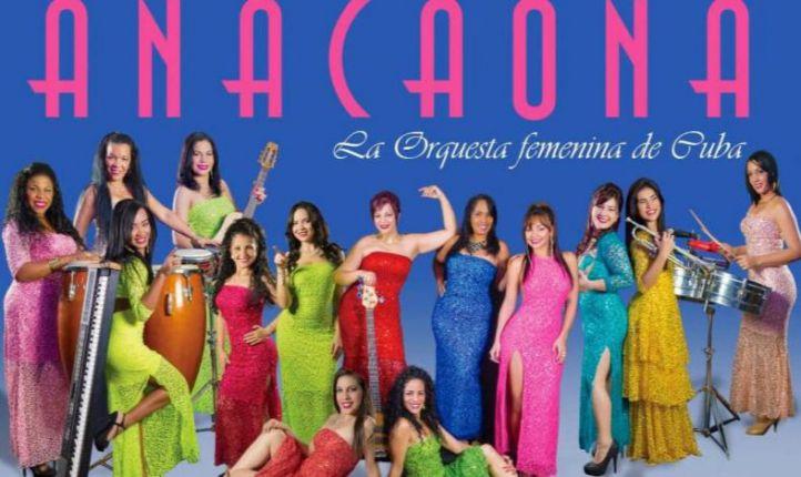 Anacaona, la mejor orquesta femenina de Cuba, este martes en Galileo Galilei