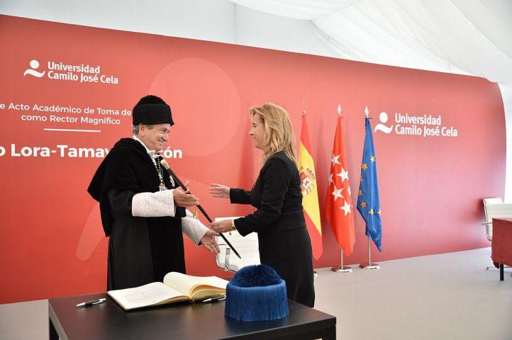 Emilio Lora-Tamayo, nuevo rector de la Universidad Camilo José Cela