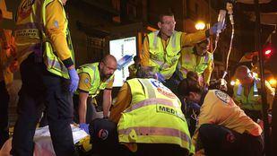 Heridos graves dos jóvenes tras ser apuñalados en Legazpi