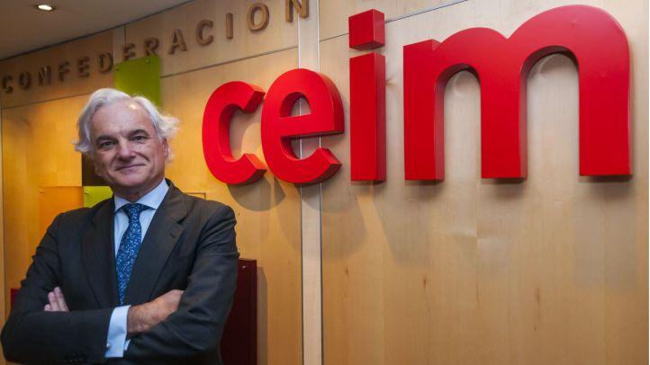 Miguel Garrido, presidente del CEIM, elegido nuevo vicepresidente de CEOE