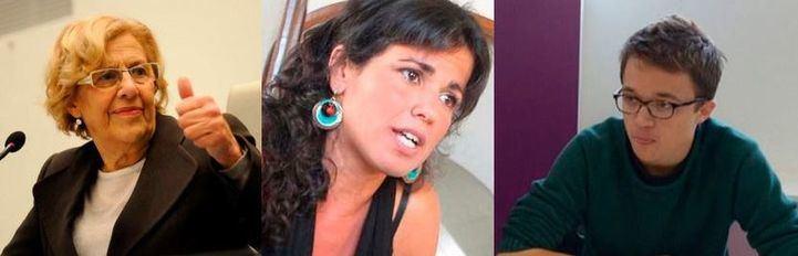 Carmena Rodríguez y Errejón
