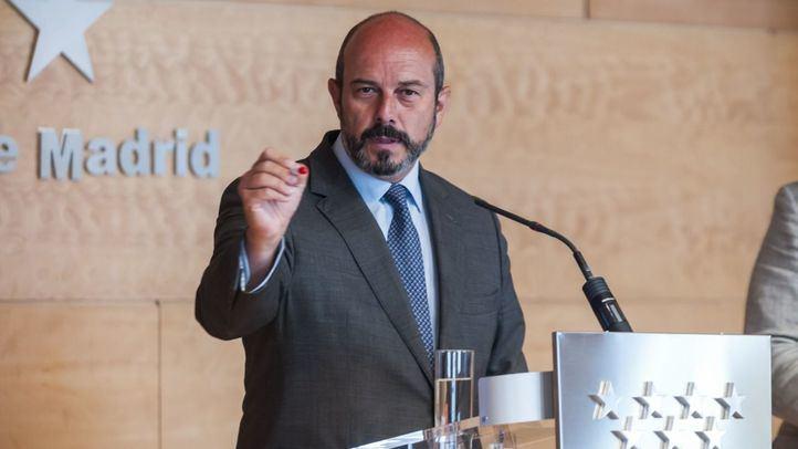 El expresidente de la Comunidad de Madrid, Pedro Rollán.