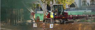 Comienza la excavación de los restos históricos de Ferraz