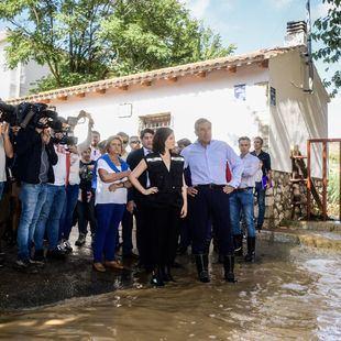 Ayuso pide ayudas para los municipios arrasados por DANA