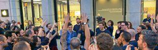 Aplausos y expectación: Madrid recibe al iPhone 11