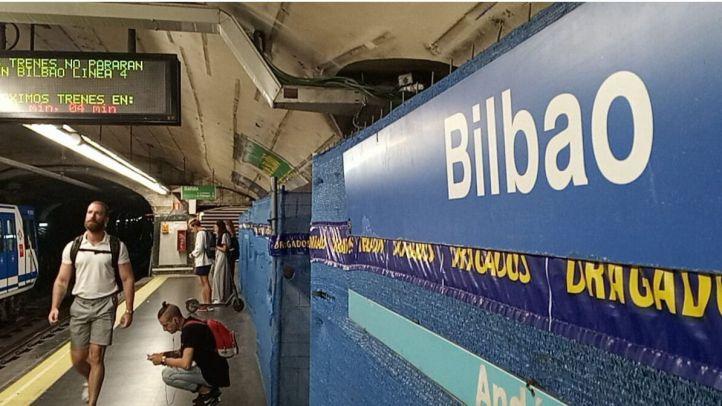 La estación de Bilbao volverá a estar transitado por trenes de la línea 4