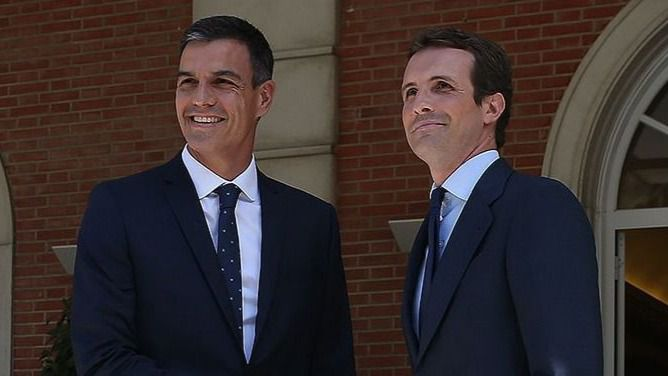 Se refuerza el bipartidismo y apenas se sostienen Cs, Podemos y Vox