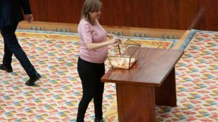Tania Sánchez da a luz a su primer hijo en el 12 de Octubre