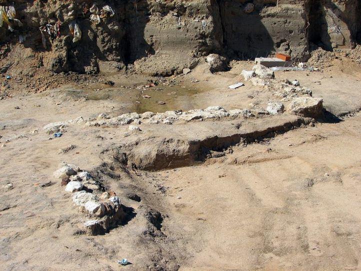 El yacimiento romano de Carabanchel, abandonado