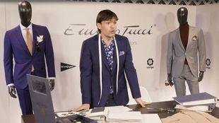 El Corte Inglés y tres embajadores de LaLiga ruedan un cameo de moda y deporte para Emidio Tucci