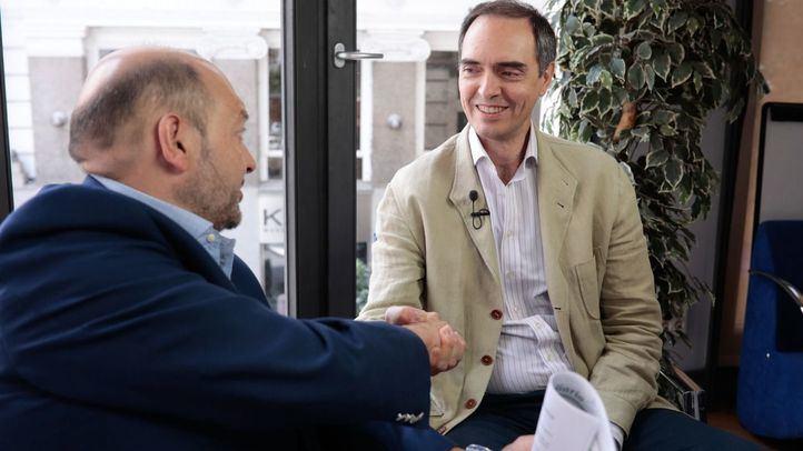 Jose Antonio Poveda y Constantino Mediavilla