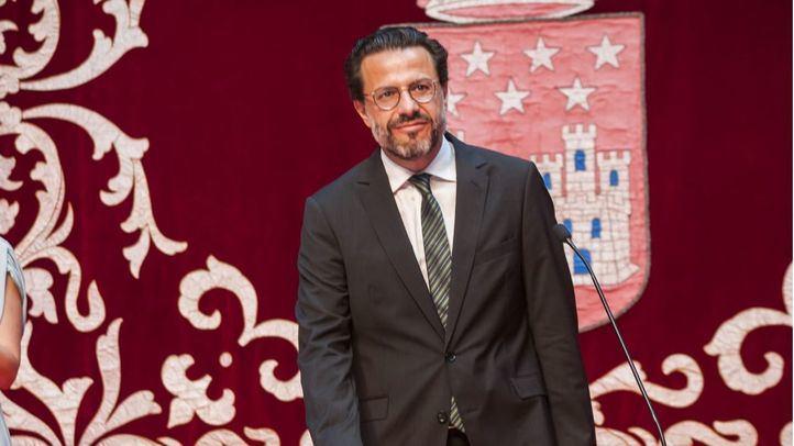 Javier Fernández-Lasquetty, consejero de  Hacienda y Función Pública.