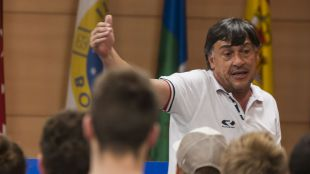 Daniel Hourcade, entrenador y Gerente de Alto Rendimiento de Sudamérica Rugby, en la UAX