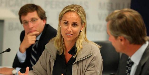 La diputada del PP y futura senadora por designación autonómica, Ana Camíns.