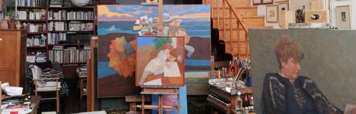 Los artistas madrileños abren las puertas de sus casas