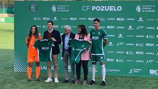 Casillas, invitado de honor en la presentación de temporada del CF Pozuelo