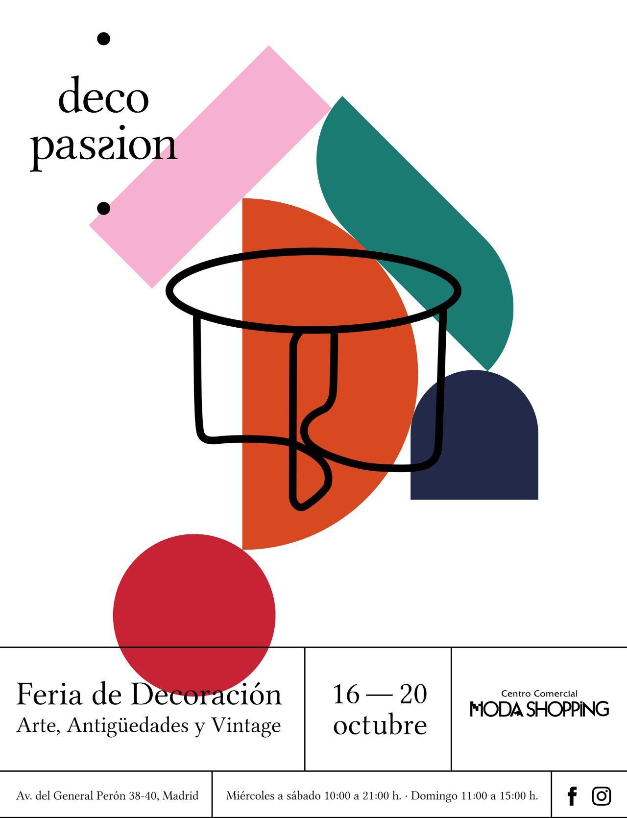 Llega DecoPassion, una nueva feria de decoración, arte, antigüedades y vintage