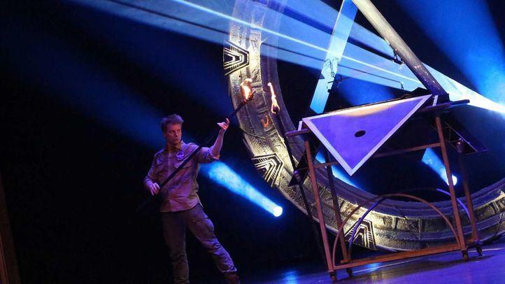 El mago Yunke en uno de sus espectáculos.