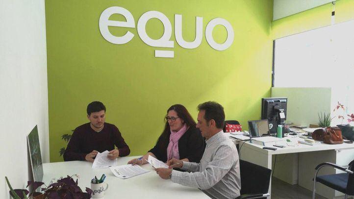 Miembros de Equo Madrid.