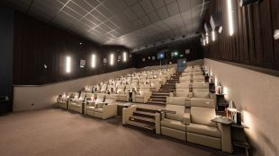 """Así son las salas """"de lujo"""" del mítico Cine Palafox"""