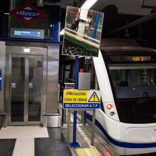 Metro localiza amianto en un túnel y 23 vagones
