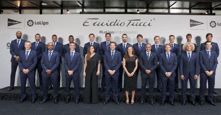 El Corte Inglés viste a los embajadores de LaLiga con su marca Emidio Tucci