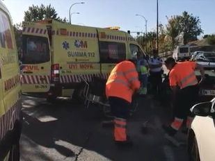 El niño atropellado en San Sebastián de los Reyes sigue en coma inducido