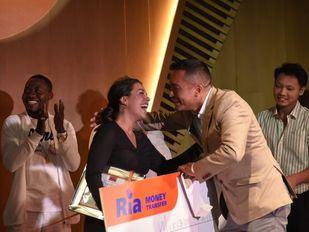 Miriam Fatmi, ganadora del primer concurso de talentos para inmigrantes en Madrid