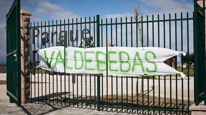 Podemos acusa al Ayuntamiento de desoír a los vecinos sobre el Parque de Valdebebas