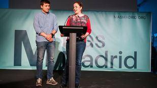Pablo Perpinya y Esther Gómez, de Más Madrid, en una imagen de archivo.