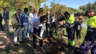 Isabel Díaz Ayuso anuncia en Aranjuez la creación de un Arco Verde que conecte los Parques Regionales.