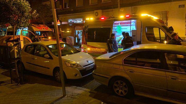 El joven herido ha sido trasladado al Hospital 12 de Octubre.