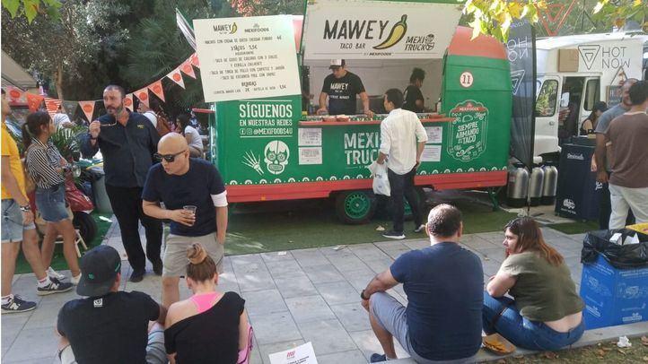 Los food trucks vuelven a Azca con MadrEat