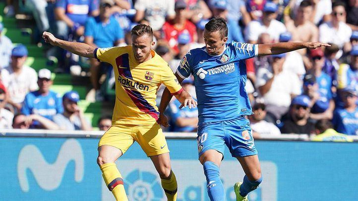 Los dos tantos del Barça provocan la segunda derrota del Getafe en Liga