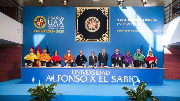 La Universidad Alfonso X el Sabio celebra la Apertura del Curso premiando la creatividad y la excelencia