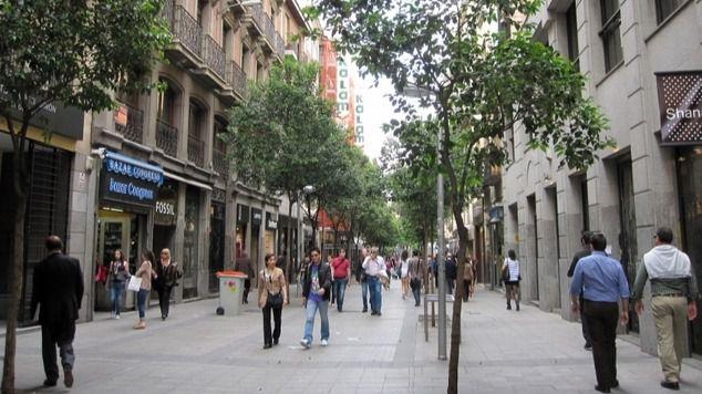 Almeida anuncia la probable peatonalización de Hortaleza y Fuencarral y un nuevo bosque