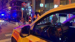 Un herido por arma de fuego y 3 apuñalados en una pelea en Vallecas