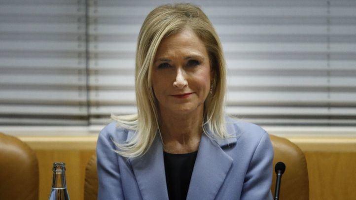 La expresidenta de la Comunidad de Madrid, Cristina Cifuentes.