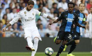 El Madrid se acercó a la eliminación europea y salva un triste punto ante el Brujas (2-2)