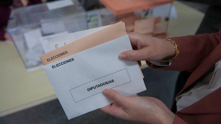 Sobres en las pasadas elecciones generales.