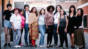 Mujeres que participan en Tapapiés 2019