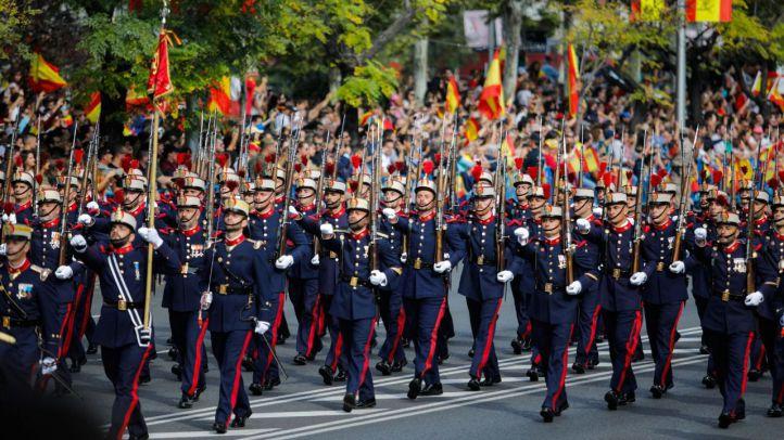 Los números del desfile del 12-O: 3.500 efectivos, 76 aeronaves y 100 vehículos